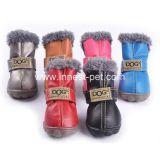 Zapatos del animal doméstico del perrito del perrito del perro de la nieve de los Mulyi-Colores, accesorio del perro
