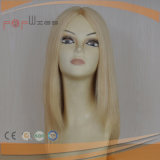 ヨーロッパの毛の絹の上のかつら(PPG-l-0986)