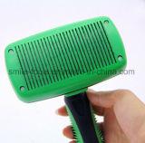 Escova mais lisa de Gilling do pente da preparação do cabelo do gato do cão de animal de estimação