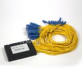 caixa plástica do ABS ótico do divisor do PLC da fibra 1xn/2xn empacotada