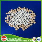 Pureza elevada y bola de cerámica del alúmina medio de la densidad a granel