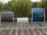 De Steunen van de Glasvezel van het Gebruik van de Luifel van de Tuin van Lexan van het Frame van het aluminium voor Verkoop (800-a)