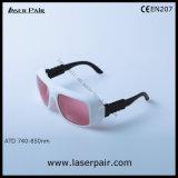 Occhiali di protezione del laser del diodo 808nm & del Alexandrite da Laserpair
