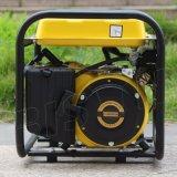 バイソン(中国) BS1800A 1kw円形フレームの単一フェーズガソリン発電機