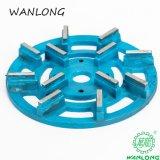 돌에게 석판 갈고, 중국 Wanlong 다이아몬드 갈고 및 닦는 공구를 위한 거친 금속 디스크
