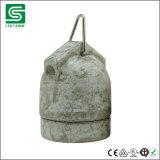 Porzellan-Lampenhalter-Lampen-Kontaktbuchse der Weinlese-E27 keramische mit Haken