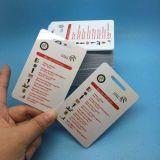 L'identification LF PVC 125kHz HITAG2 Carte de commande accress RFID de proximité