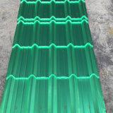 ペットNano熱絶縁体および酸およびアルカリの抵抗力がある鋼鉄Coil&Roofのタイル