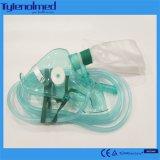 Suministro médico Non-Rebreathing máscara de oxígeno para el uso de Hospital