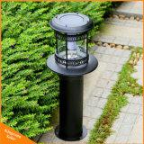 Solar LED Lámpara de jardín de césped en el exterior de la luz de paisaje