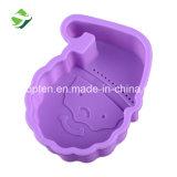 Sans BPA Santa Claus moule à pain de cuisson en silicone