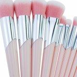 Бесплатный образец Private Label 10ПК макияж окрашивание щетки