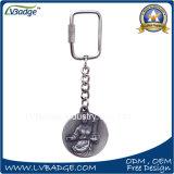 주문 로고를 가진 승진 금속 열쇠 고리 선물