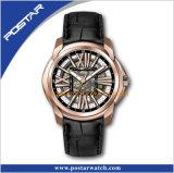 Ouderwetse Horloge van de Hoogtemeter van het Horloge van het Horloge van de Sport van het Geval van het roestvrij staal het Toevallige