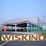 Стандарт ISO Сборные стальные склад с стальные балки материалов