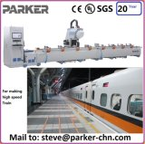 Molienda perforación CNC centro de mecanizado de tres ejes