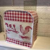 De rode Dekking van het Toestel van de Mixer van het Voedsel van de Reeks van de Hulp van de Keuken van het Wasdoek van pvc van de Dieren van het Boerenerf van de Gingang Professionele