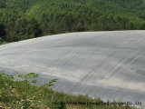 10000m3 HDPE Digester Membrane-Lagoon биогаза