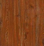 carrelage Polished de porcelaine de plancher en bois de couleur de 60X60 Brown plein avec la bonne qualité