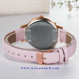 OEM 주문 숙녀 석영 Wist 시계, Alloy Watch (WY-17041) 숙녀