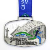カスタム金の金属の柔らかいエナメルの達成学術賞メダル