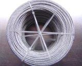 de Kabel van de Draad van het Staal 6*36ws+FC Ungalvanized voor Mijnbouw