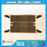 Профиль алюминия типа Италии итальянский/алюминиевых штрангя-прессовани при порошок покрывая деревянные зерно/Brown