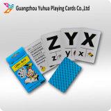 Cartões de jogo educacionais feitos sob encomenda dos cartões para miúdos
