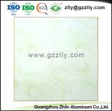 Square polymériques en alliage aluminium acoustique ignifuge les carreaux de plafond à la norme ISO9001