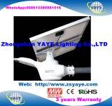 18 Ce/RoHS Yaye 3 ans de garantie Outdoor 200W LED intégrée Rue lumière solaire lampe avec télécommande et le capteur de mouvement