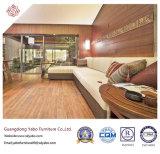 Шикарная мебель гостиницы для софы живущий комнаты напольной угловойой (YB-GN-4)