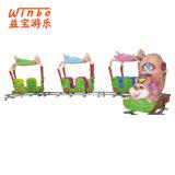 Tren del juguete de la máquina de juego del patio de 12 asientos para la diversión de los niños (T06)