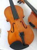 Скрипка музыкальной аппаратуры переклейки с комплектом скрипки