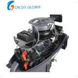 2 motore esterno del crogiolo di benzina 20HP Calon del colpo del motore dell'asta cilindrica di inizio elettrico manuale lungo marino di inizio