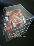 CLEAR acrylic Compartment STORAGE box