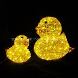 LED das luzes de Natal de LED luzes de pato decoração de jardim