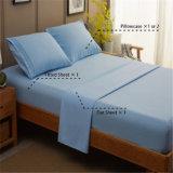 Полиэстер/хлопчатобумажной ткани подушками наборы мягкой кровати наборы листов