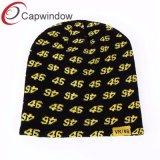 100% acrylique Beanie Hat avec jacquard 46