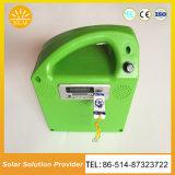 Обязанность телефона MP3 системы FM новой функции USB батареи 10W7ah солнечная домашняя Radio