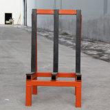 Стальные склад для хранения стеклянные стойки для Galss заводской сборки