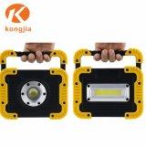 De nouveaux produits pliants RECHARGEABLE USB portable phare de travail de rafles de plein air