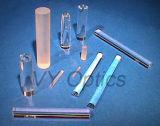 レーザーまたはファイバーのための光学ガラスの上塗を施してある棒レンズ