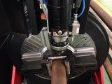 CNC van de Buis van het staal de Scherpe Machine van de Laser met de Ronde, Rechthoekige en Ovale Vormen van Profielen