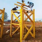 12のTの建築材料の持ち上げ装置のタワークレーン