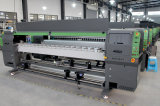 LED 인쇄 기계 천장 인쇄 기계 기치 디지털 프린터 Ruv3204를 구르는 3.2m UV 롤
