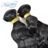 브라질 느슨한 파 머리 직물은 Virgin 머리 연장 100% 사람의 모발을 묶는다