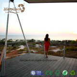 Het hete Verkopen Goedkope Waterdichte Duurzame Uitgedreven Houten Plastic Samengestelde Decking