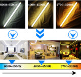 Indicatore luminoso fluorescente del tubo della lampada di sviluppo di pianta 4FT T5 14W 18W 3000K 6500K LED