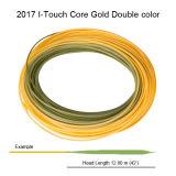 Самые лучшие 2017 Я-Касатьются линии цвету золота сердечника двойника плавая линия мухы Csutom удя