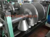 생산 기계를 형성하는 케이블 쟁반 사다리 롤이 자동 강철에 의하여 직류 전기를 통했다